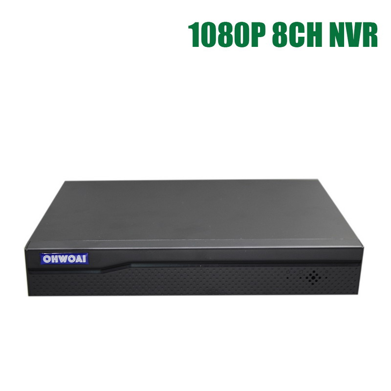 Video Surveillance 8 Channel 1080P NVR